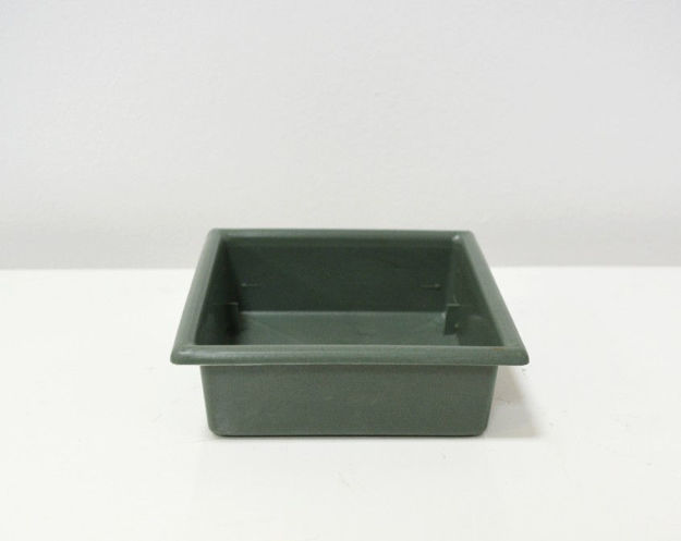 Slika Zelena posudica 13 x 13 cm