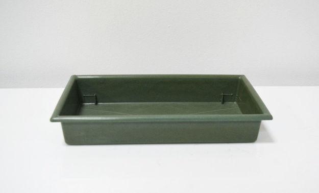 Slika Zelena posudica 25 x 13 cm