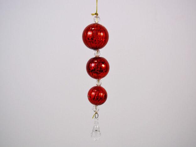 Slika Božićni ukrasi - Set 3kom