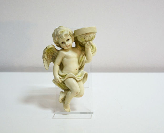 Slika Dekorativni svijećnjak u obliku anđela 25.5 cm