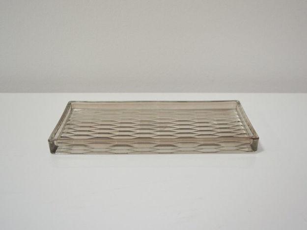 Slika Dekorativni stakleni tanjur