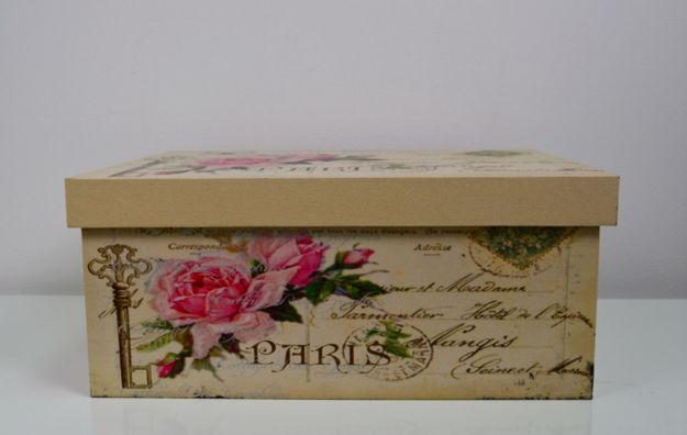 Slika Dekorativna kutija Paris 45x36x19cm