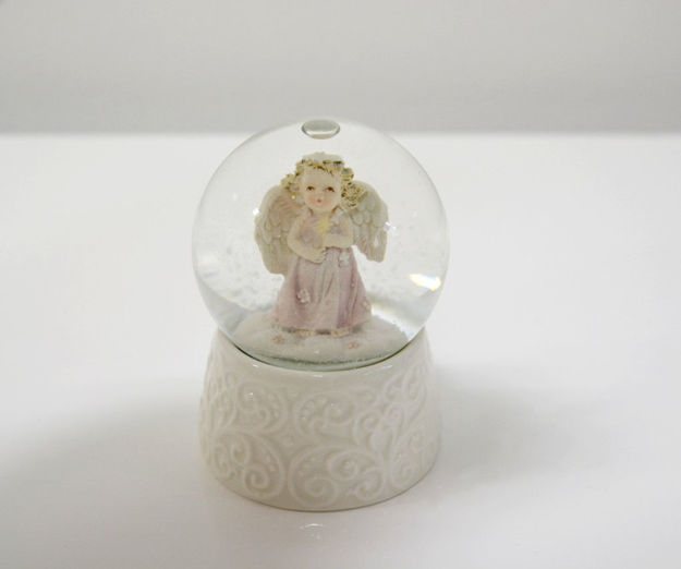 Slika Anđeo u vodenoj kugli 9 cm