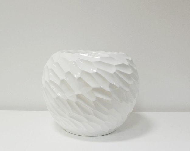 Slika Bijela dekorativna vaza