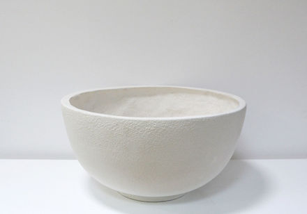 Slika Bijela  dekorativna vaza 29 cm