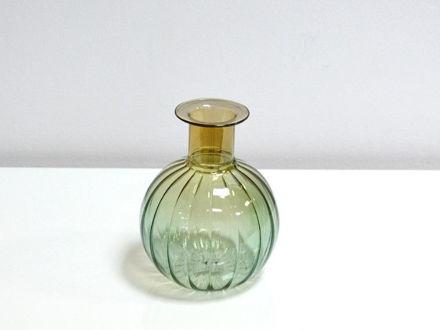 Slika Dekorativna staklena vaza 12,5 cm