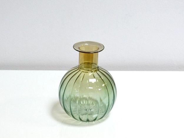 Slika Dekorativna staklena vaza 15 cm