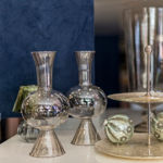 Slika Dekorativna staklena vaza 25 cm