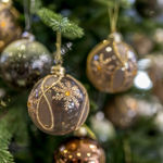 Slika Božične kuglice - Set 4kom - 10cm