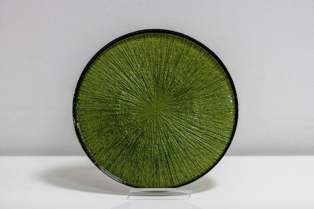 Slika Stakleni tanjur 21x21cm