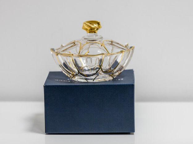 Slika Dekorativna kristalna  posuda