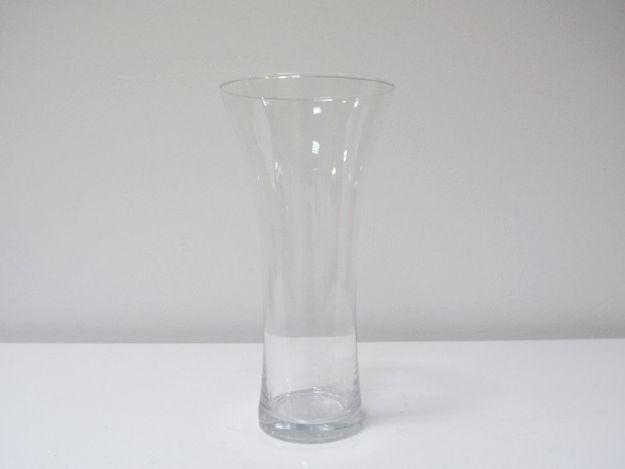 Slika Staklena vaza 25 cm