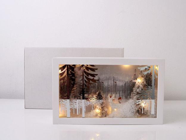Slika Božićna glazbena dekoracija sa rasvjetom , 15 cm