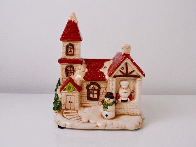 Slika Božićna glazbena dekoracija sa rasvjetom  21,5 cm