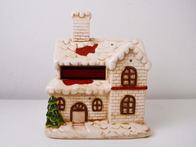 Slika Božićna glazbena dekoracija sa rasvjetom, 27 cm