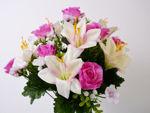 Slika Buket ruža mix 40cm