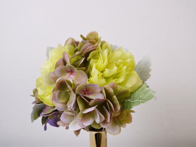 Slika Buket peonija/hortenzija 30cm