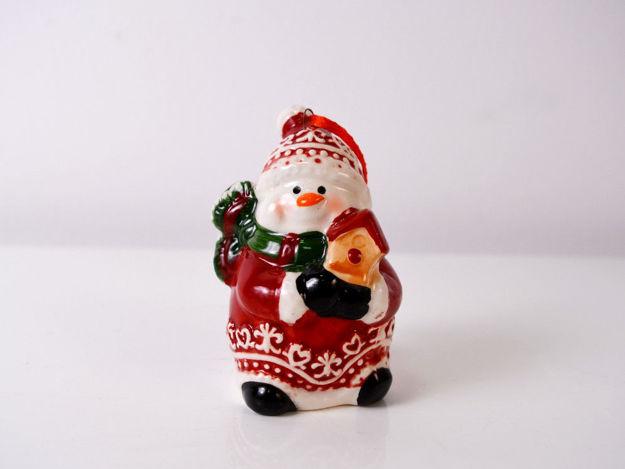 Slika Božićna figura keramika 9 cm