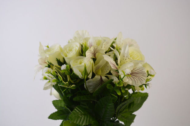 Slika Buket ruža/orhideja 42cm