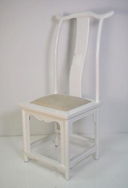 Slika Stolica drvo/tkanina 48x57x114 cm