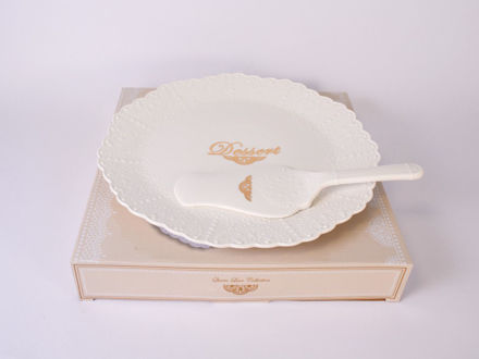 Slika Set za kolače porculan 30 cm