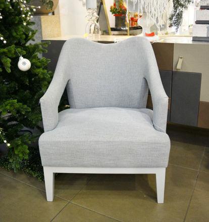 Slika Stolica drvo/tkanina 72x80x85 cm