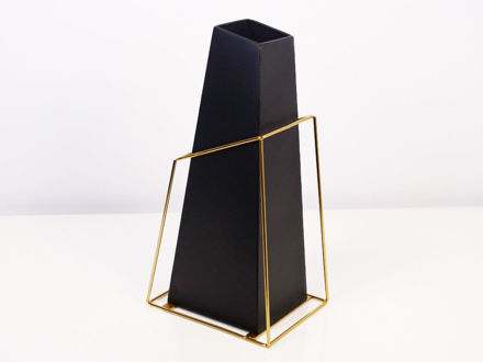 Slika Vaza metal 16 x 11.5 x 30.5 cm