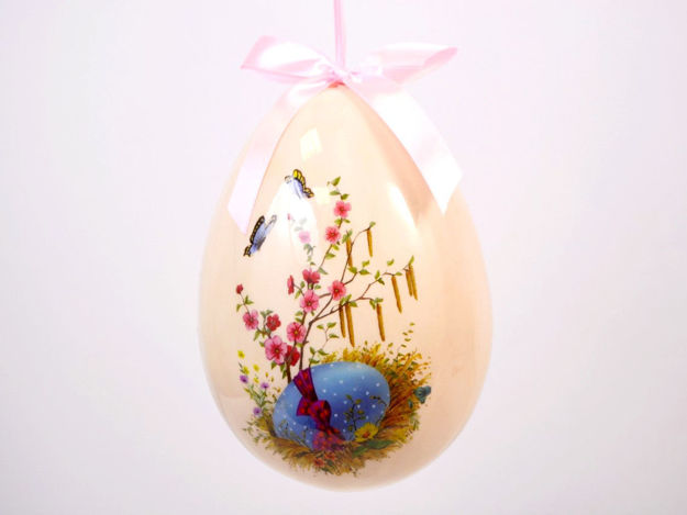 Plastično jaje na uskršnji uzorak 1