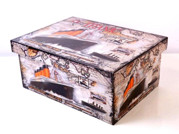 Slika Kutija dekorativna 34x25x15 cm