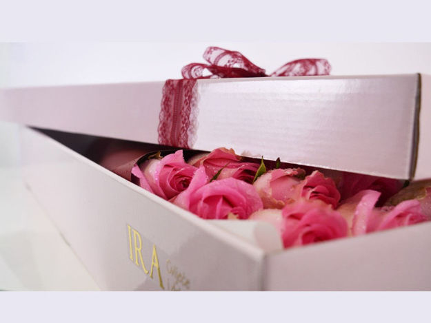 Flower box - ruže u boji 02