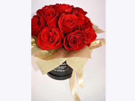 Slika Flower box L - crvene ruže