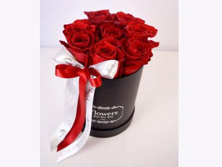 Slika Flower box S - crvene ruže