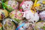 Set od 12 uskršnjih plastičnih jaja mix boja