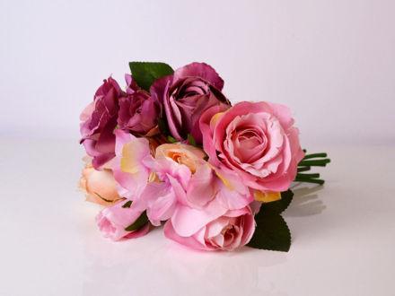 Slika Buket ruža/hortenzija 31 cm