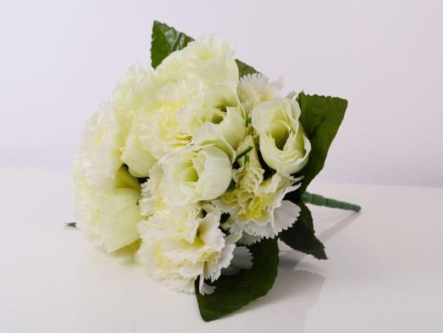 Slika Buket ruža/karanfil 34 cm