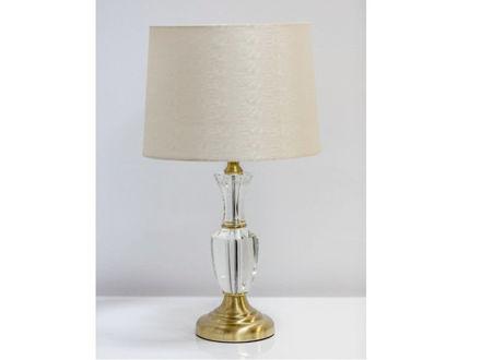 Stolna svijetlo bež/zlatna lampa 01