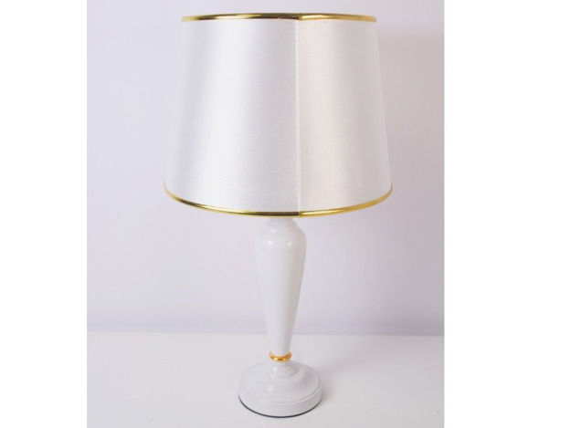 Stolna bijela lampa 07