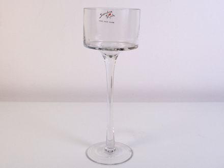 Slika Vaza/svijećnjak staklo 25 cm