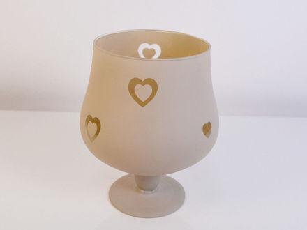 Slika Vaza staklo 20 cm