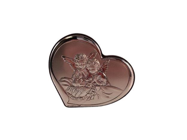 Slika Ikona metal/drvo 8 cm x 7.3 cm