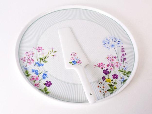 Slika Set za kolače porculan 32 cm