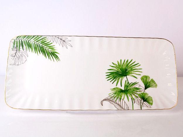 Slika Tanjur porculan 36 x 16 cm