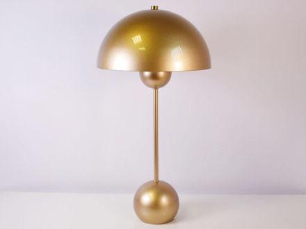Stolna zlatna lampa 02