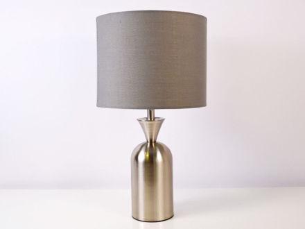 Stolna siva lampa 03