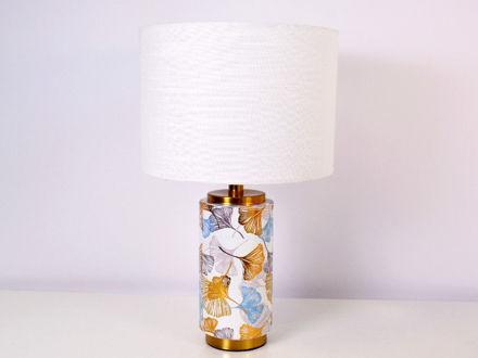 Stolna bijela lampa 02