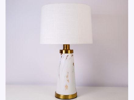 Stolna bijela lampa 03