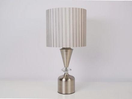 Stolna siva lampa 04