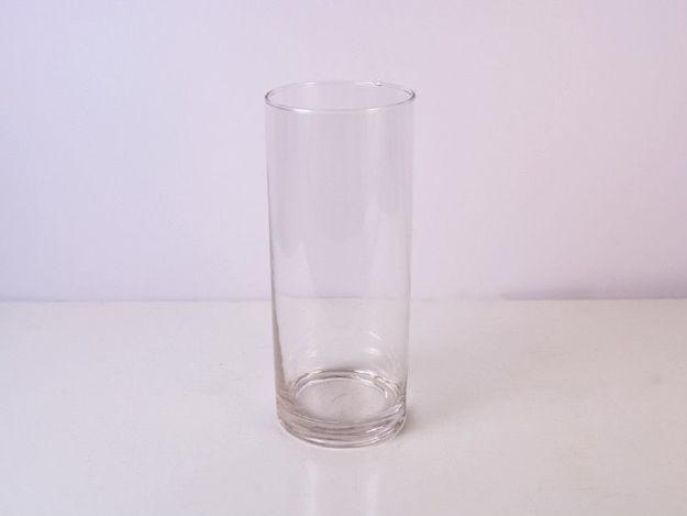 Slika Vaza cilindar staklo 25 cm x 10 cm