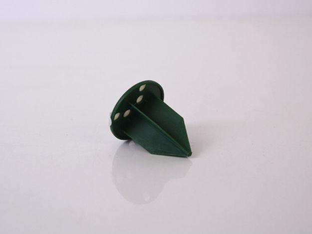 Slika Samoljepljivi držač 3 cm x 3 cm x 4 cm