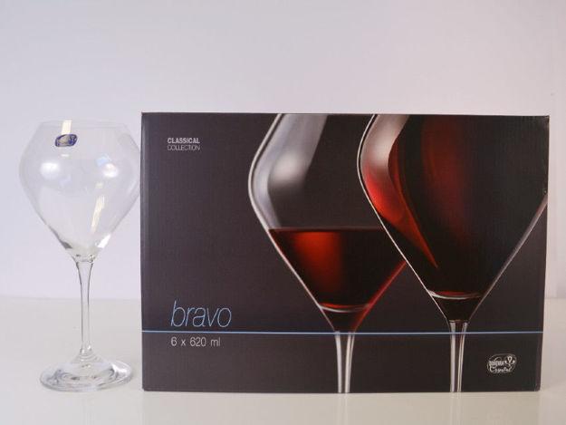 Slika Čaše za vino S/6 kristalin 620 mL